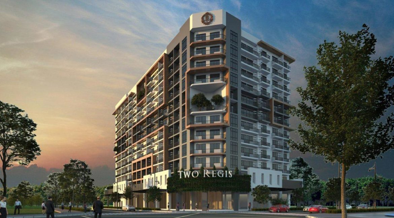 Two-Regis-The-Upper-East-Building-Pespective