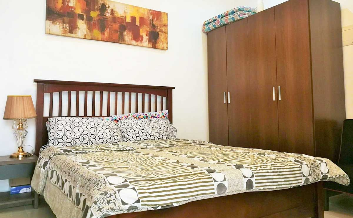 Spacious Studio Fully Furnished